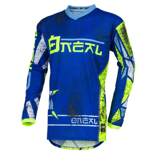 O Neal Element Jersey Zen Motocross Jerseys - Blue