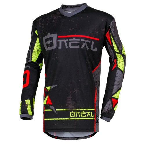 O Neal Element Jersey Zen Motocross Jerseys - Neon Yellow