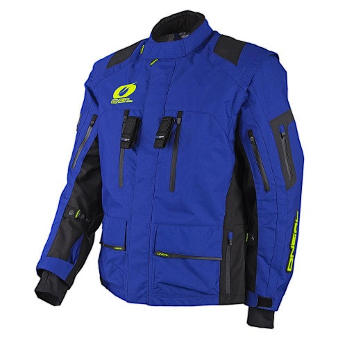 Enduro Jacket O Neal Baja Racing Enduro Moveo - Blue