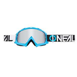 O Neal B-10 Twoface Motocross Goggles - Blue/black
