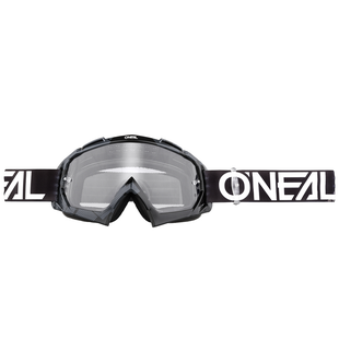 O Neal B-10 Goggle Pixel Black/white - Clear Motocross Goggles - Black/white