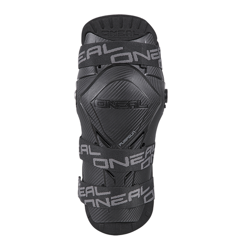 Ginocchiere O Neal Pumpgun Mx Carbon Look - Black