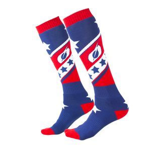 O Neal Pro Mx Sock Socks - Red/blue