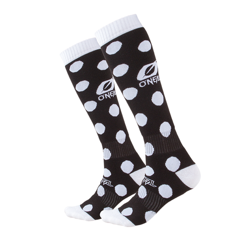 O Neal Pro Mx Sock Crossbones Black/white (one Size) Socks - Black