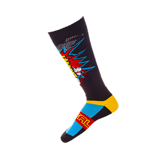 O Neal Pro Mx Sock Braaapp Black/multi Socks - Multi