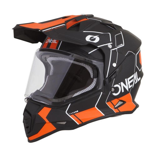 O Neal Sierra II Comb Adventure Helmet - Black/orange