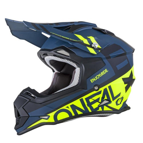 Casco MX O Neal 2series Rl Helmet Spyde - Black
