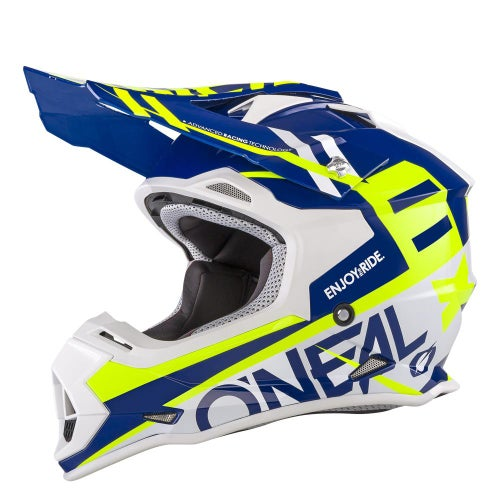 Casco MX O Neal 2series Rl Helmet Spyde - Blue