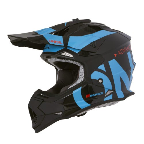 Casco MX O Neal 2series Rl Helmet Slick - Black/blue