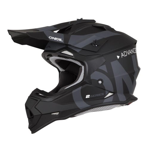 Casco MX O Neal 2series Rl Helmet Slick - Black/gray