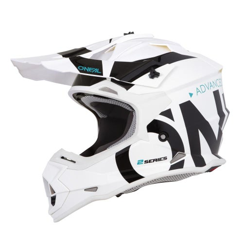 Casco MX O Neal 2series Rl Helmet Slick - White