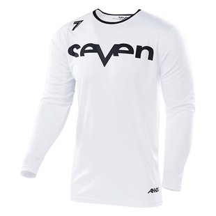 Seven 19.1 Annex Staple Vented Enduro and Motocross Jerseys - White
