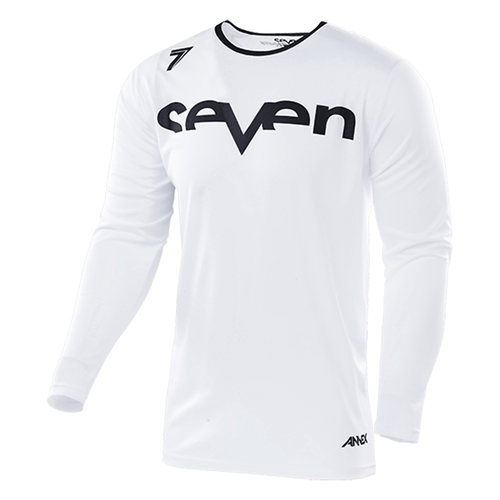 Camisola MX Seven 19.1 Annex Staple Vented Enduro and - White