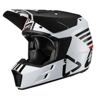 Leatt GPX 35 YOUTH MX Motocross and Enduro Helmet Boys Motocross Helmet - White