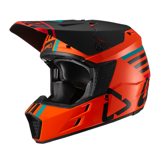 Leatt GPX 3.5 YOUTH Enduro and Motocross Helmet - Orange