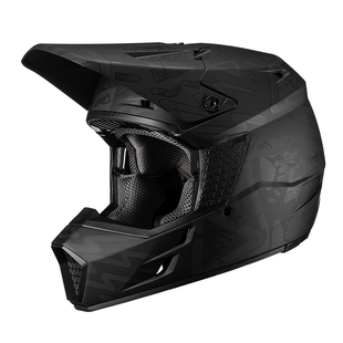 Leatt GPX 3.5 V193 Enduro and Motocross Helmet - Tribal Black