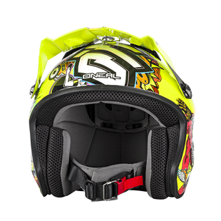 O Neal Slat Crank MX Motocross and Enduro Helmet Trials Helmet - Hi Viz