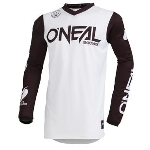 O Neal Threat Jersey Rider Motocross Jerseys - White