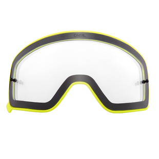 O Neal B50 Goggles Yellow Spare Lens Motocross Goggle Lense - Clear