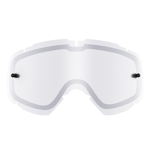 O Neal B-30 Double YOUTH MX Goggle Linse - Silver Mirror