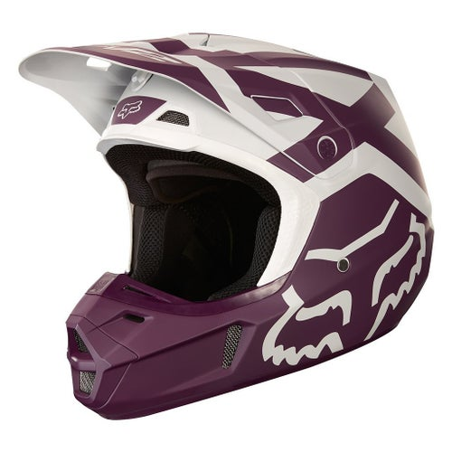 Fox Racing V2 Preme Motocross Helmet - Purple