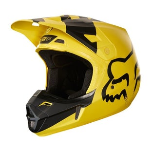 Fox Racing V2 Mastar MX Motocross Helmet - Yellow