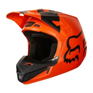 Fox Racing V2 Mastar MX Motocross Helmet - Orange