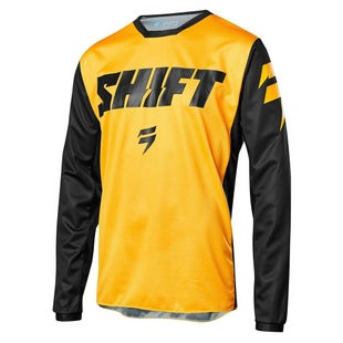 Shift WHIT3 LABEL Tarmac Motocross Jerseys - Yellow