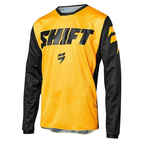 Shift WHIT3 LABEL Tarmac Boys Motocross Jerseys - Yellow