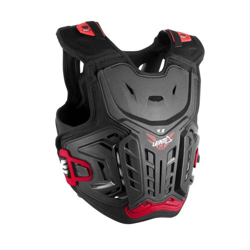 Leatt 4.5 YOUTH Chest Protector Chest Protection - Black Red