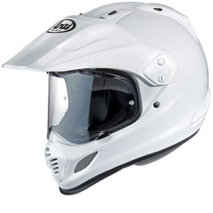 Arai Tour X4 Motorcycle Adventure Helmet - Adventure White