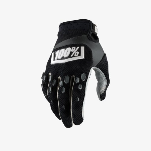 100 Percent Airmatic YOUTH Motocross Gloves - Black