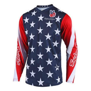 Troy Lee GP Star LE YOUTH MX Motocross Jersey Boys Motocross Jerseys - Navy