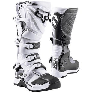 Fox Racing Comp 5 Motocross Boots - White