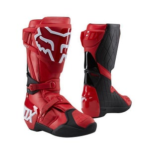 Fox Racing 180 Motocross Boots - Red
