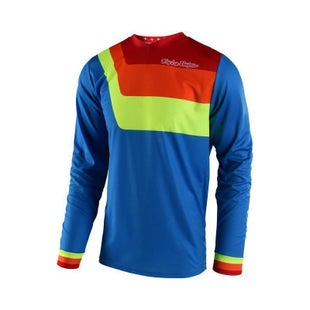 Troy Lee GP Prisma Motocross Jersey Motocross Jerseys - Blue
