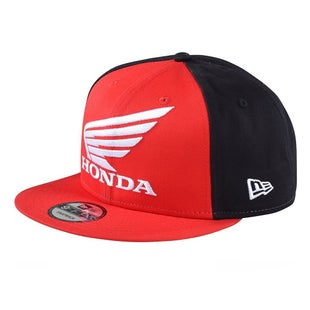 Troy Lee Honda Snapback Cap - Red