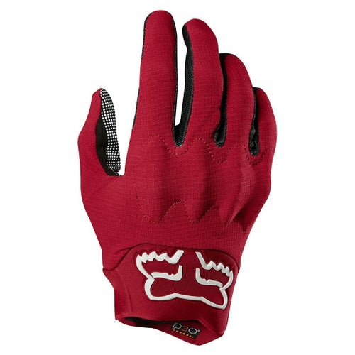 Fox Racing Bomber Light Motocross Gloves - Dark Red