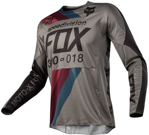 Fox Racing 360 Draftr Motocross Jerseys - Charcoal