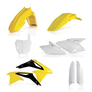 Acerbis Full Plastic Kit Suzuki RMZ 450 0817 Plastic Kit - Replica11