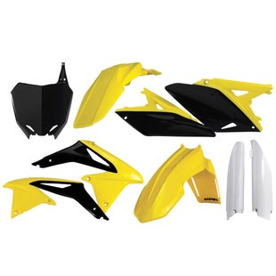 Acerbis Full Plastic Kit Suzuki RMZ 250 1017 Plastic Kit - Replica 11