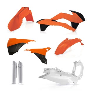 Acerbis Full Plastic Kit KTM EXCF 450 1415 Plastic Kit - Replica 14