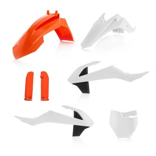 Acerbis Full Plastic Kit KTM SX 65 1617 Plastic Kit - Replica 17