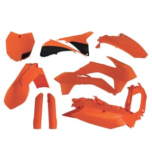 Acerbis Full Plastic Kit KTM SX 65 1617 Plastic Kit - Orange 16
