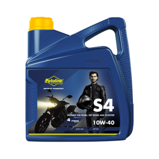 Putoline Technomoto Off Road S4 10W 40 Engine Oil - 4 Litres