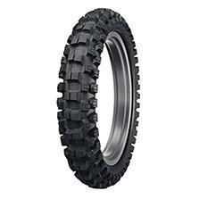Dunlop Geomax MX52 Intermediate Junior Sizes Rear Motocross Tyre - Black