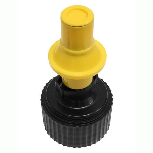 Tuff Jug Motocross and Enduro ReFuelling Ripper Valve Refueling Accessory - Yellow