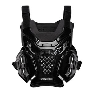 Alpinestars A6 Chest Protector One Size Fit All Chest Protection - Black