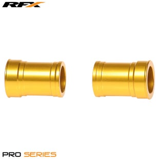 RFX Rfx Pro Wheel Spacers Front (yellow) Suzuki Rm125/250 01-08 Wheel Spacer - Yellow