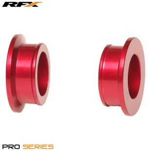 RFX Rfx Pro Wheel Spacers Rear (red) Rm125/250 01-08 Wheel Spacer - Red